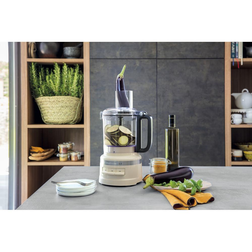 Kitchenaid 2.1l compact food pro - almond cream