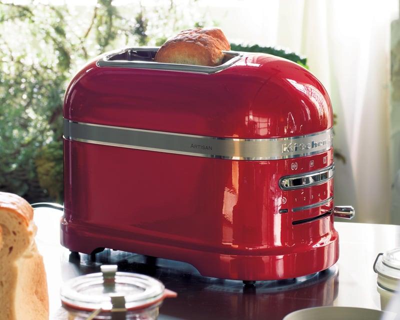 Kitchenaid artisan 2 slot toaster - empire red
