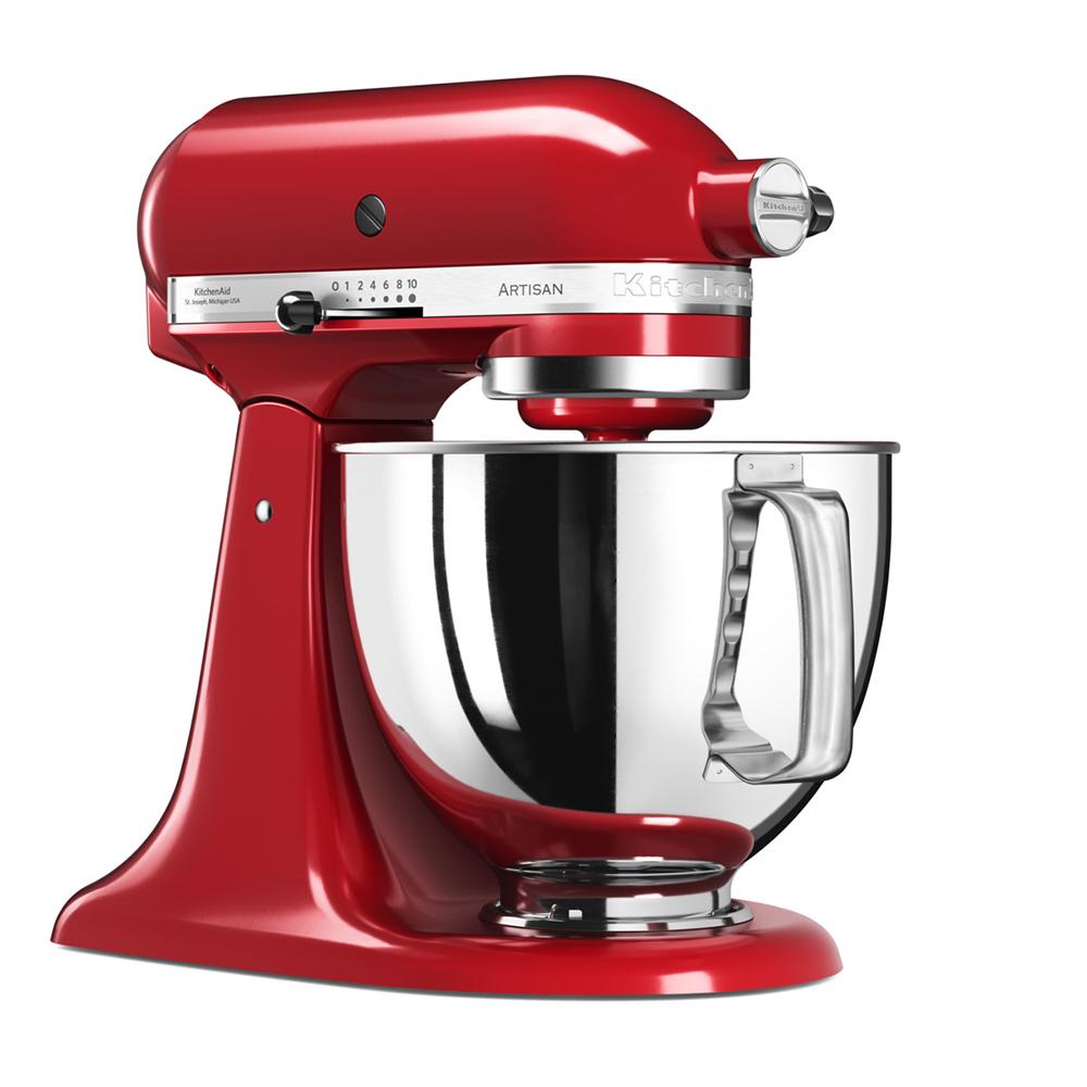 Kitchenaid 4.8 L ARTISAN STAND MIXER - Red   5KSM175PSBER