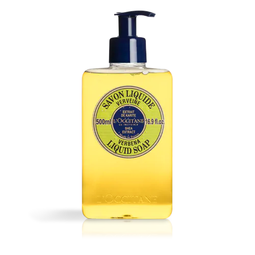 Shea Butter Verbana Liquid Soap 500ml