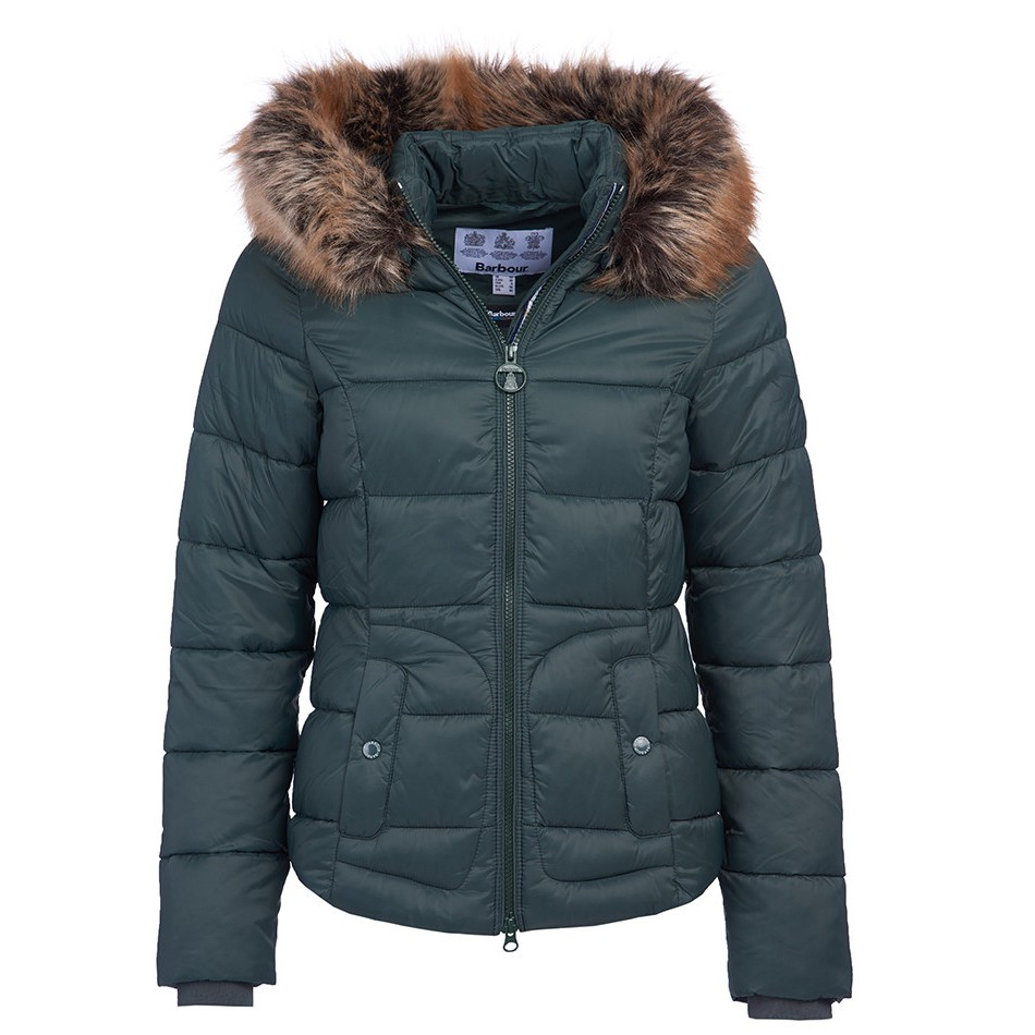 Barbour Dover Quilt GREEN/12