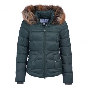 Barbour Dover Quilt GREEN/14