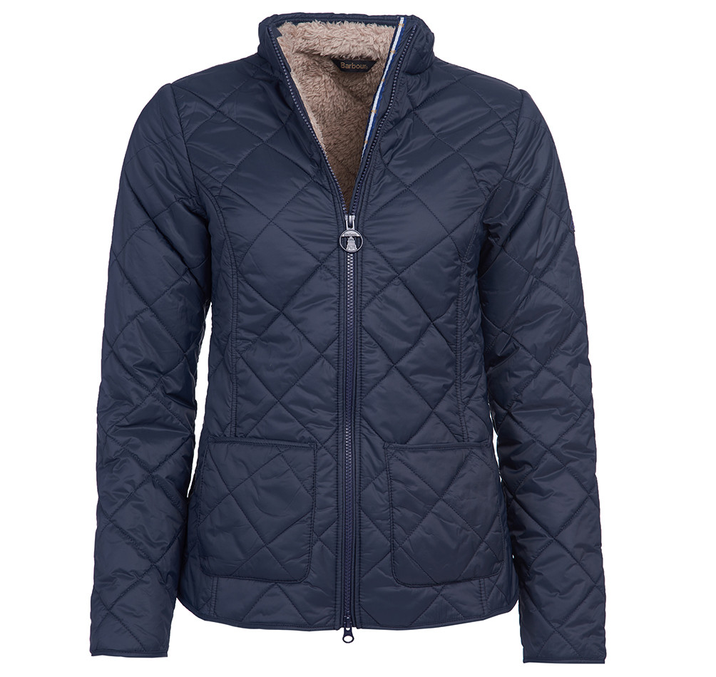 Barbour Petrel Quilt NAVY/12