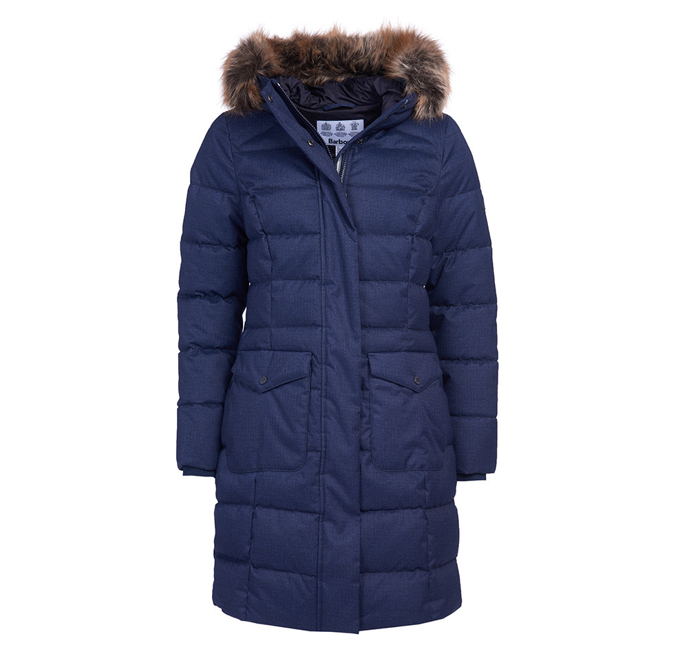 Barbour Guanay Quilt NAVY/12