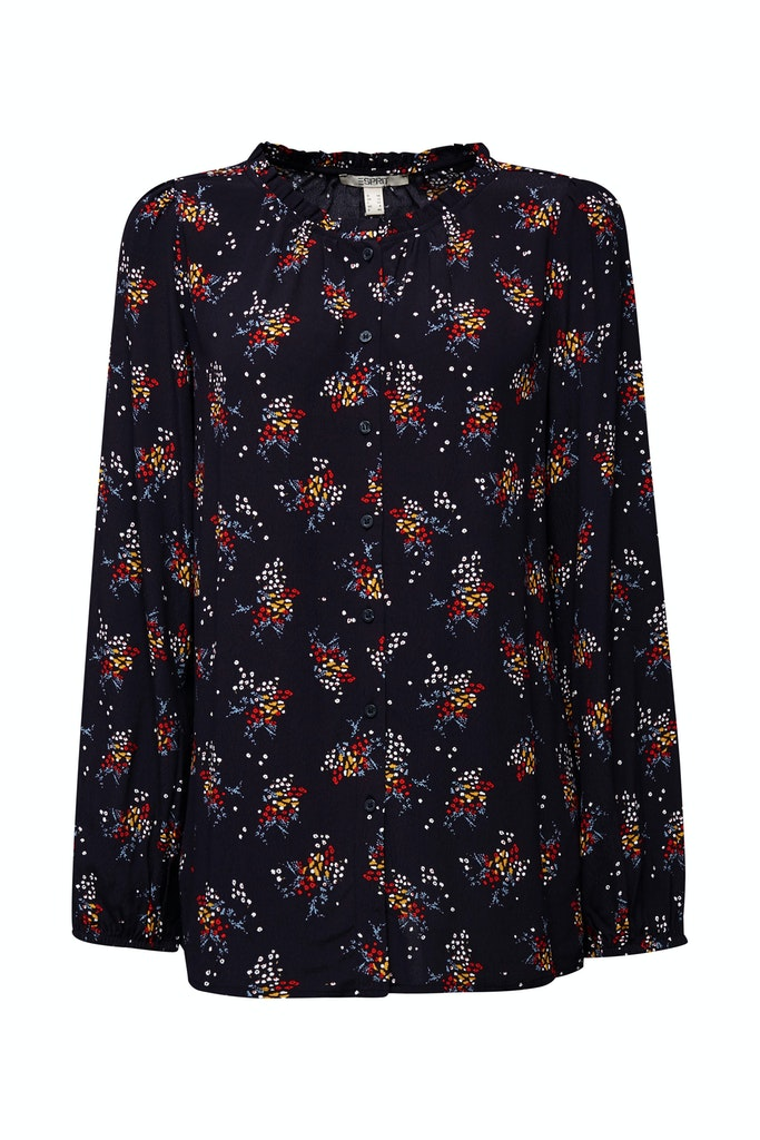 Floral blouse made of LENZING™ ECOVERO™