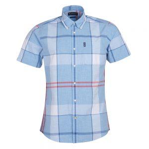 Barbour Croft S/S Shir  LT.BLUE/LARGE