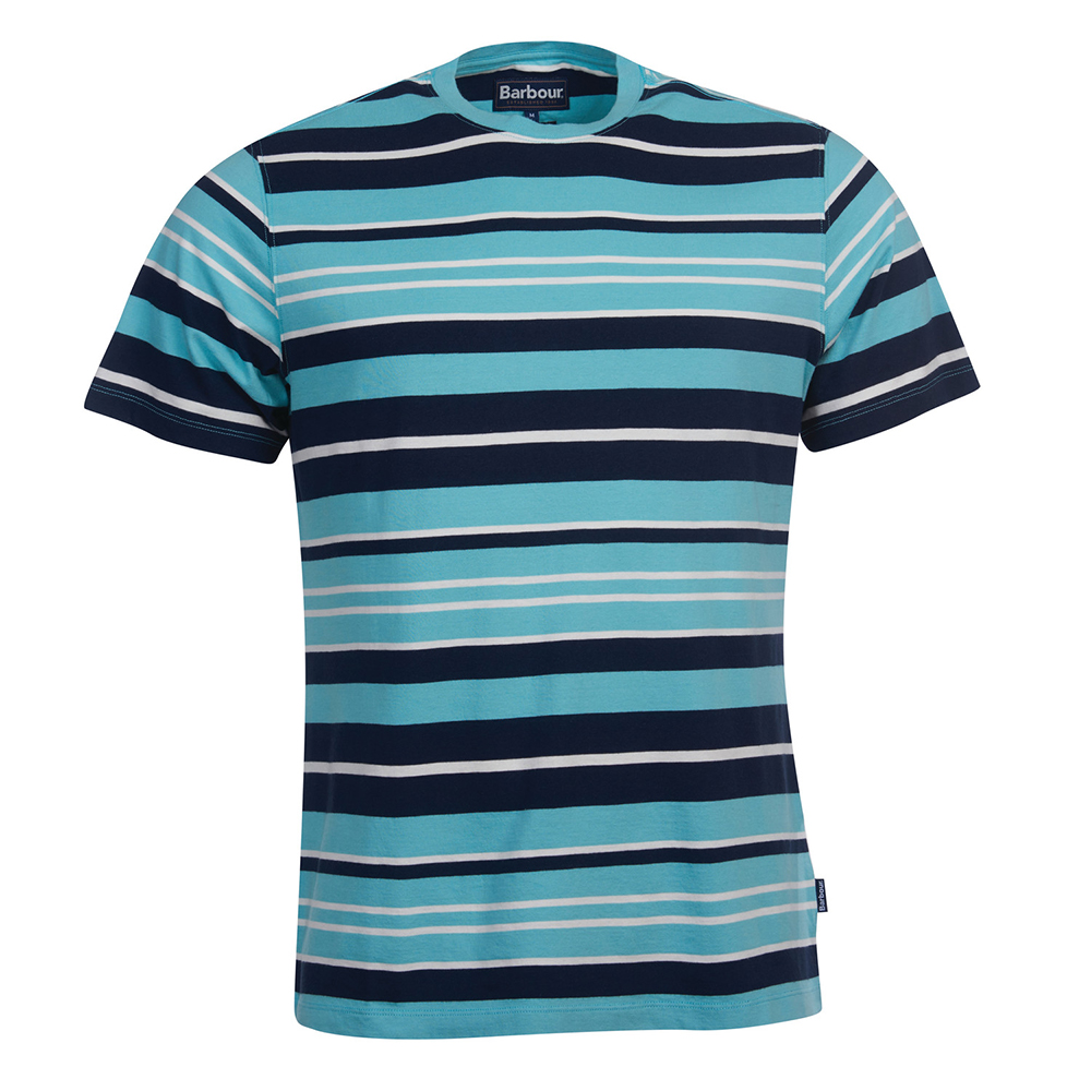 Barbour Port Stripe Te BLUE/2XL