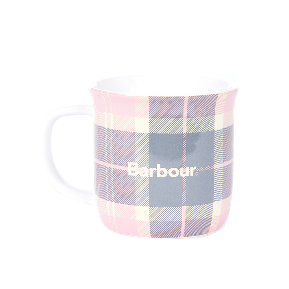 Barbour Tartan Mug PINK/ONE SIZE