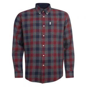 Barbour Westoe Shirt   GREY/LARGE