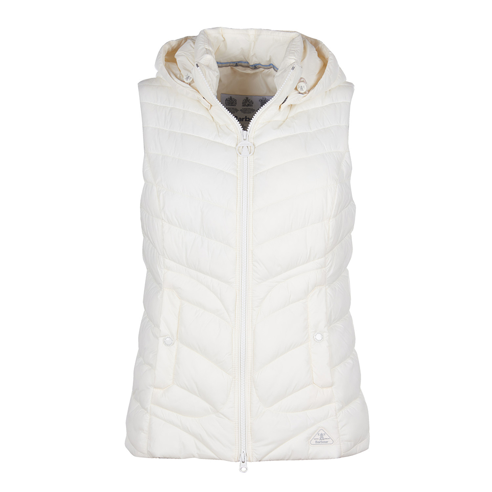 Barbour Fulmar Gilet WHITE/10