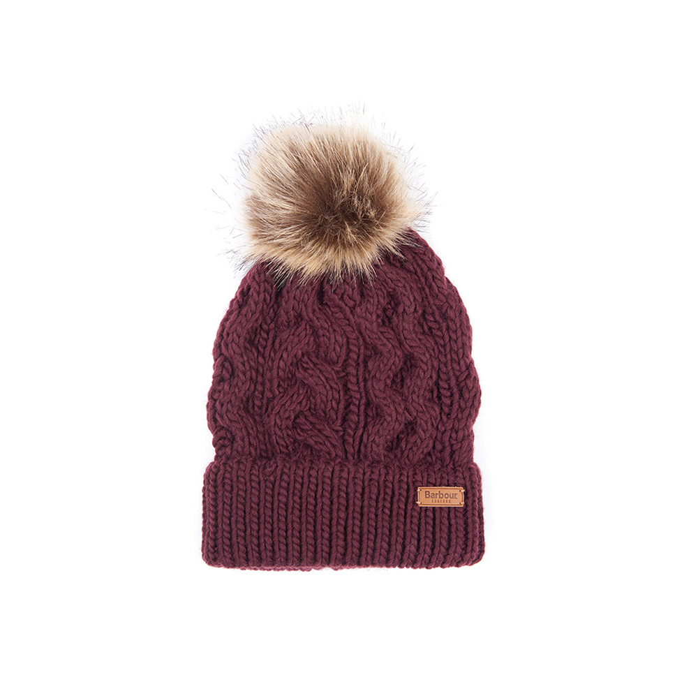 Barbour Penshaw Bea/Sc DK.RED/ONE SIZE