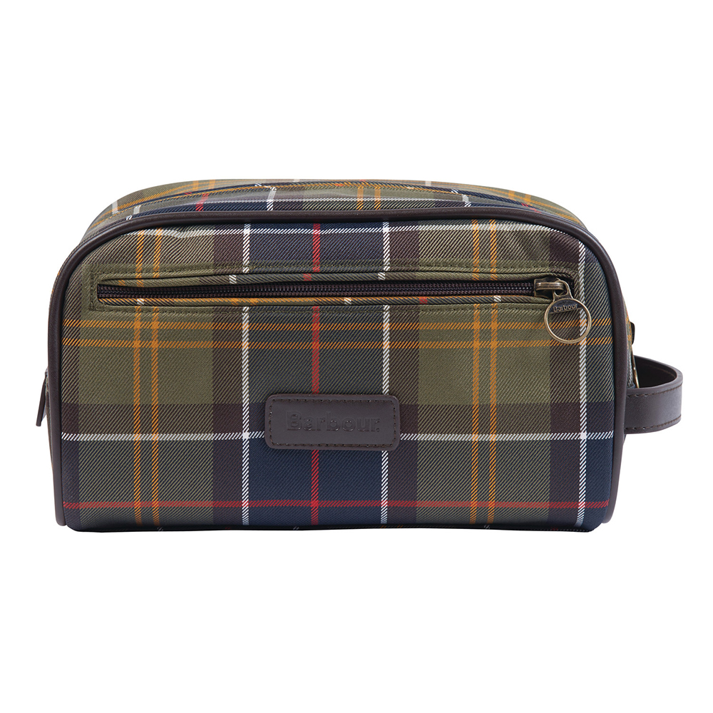 Barbour Tartan Washbag  ASSORTED/ONE SIZE