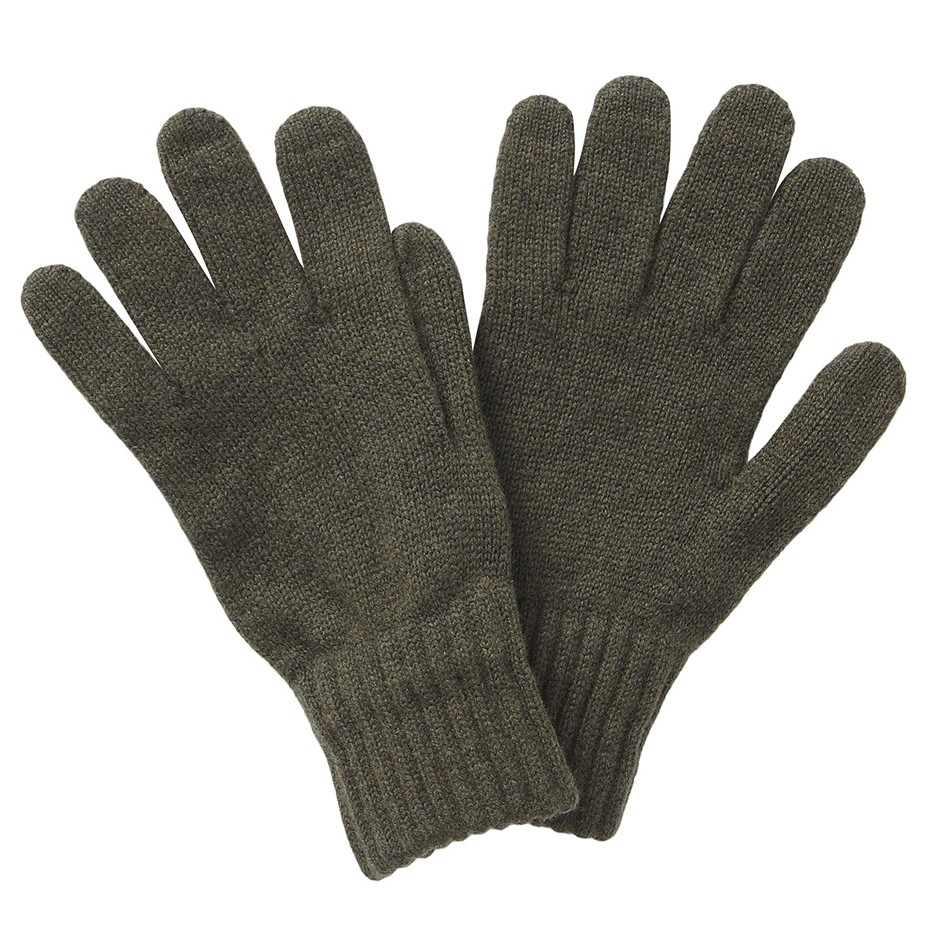 Barbour Lambswool Glove  OLIVE/MEDIUM