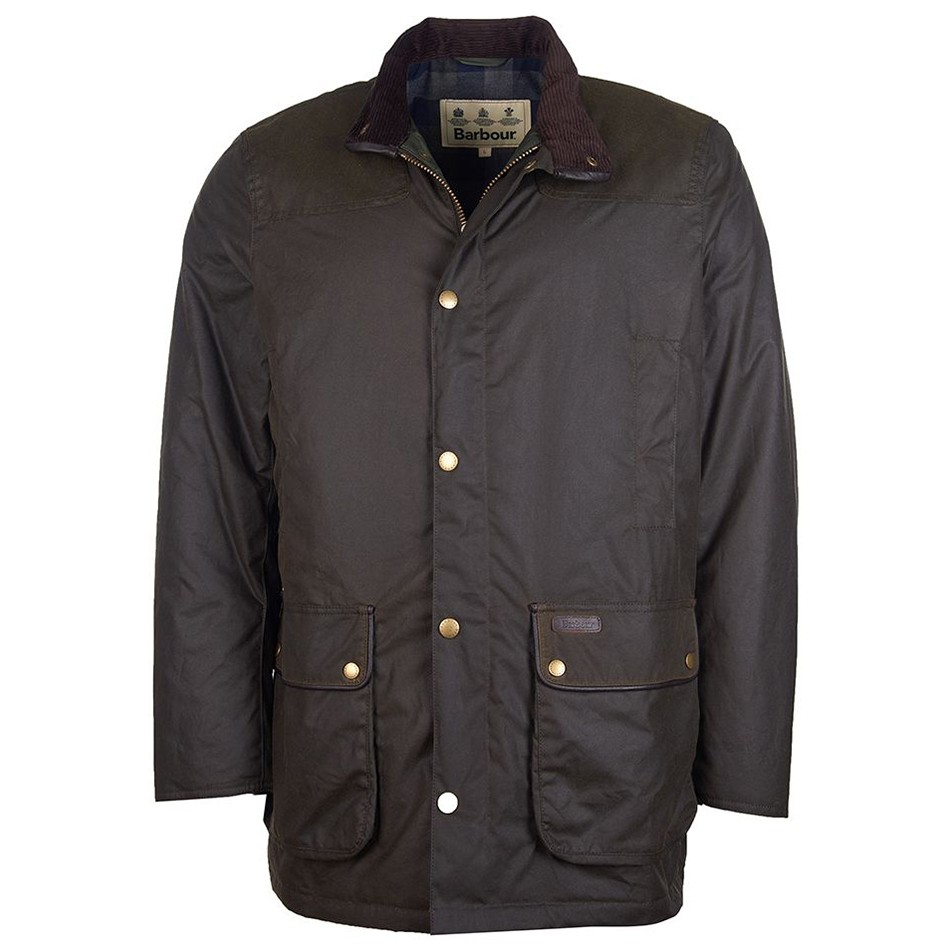 BARBOUR HARTLINGTON WAXED COTTON JACKET
