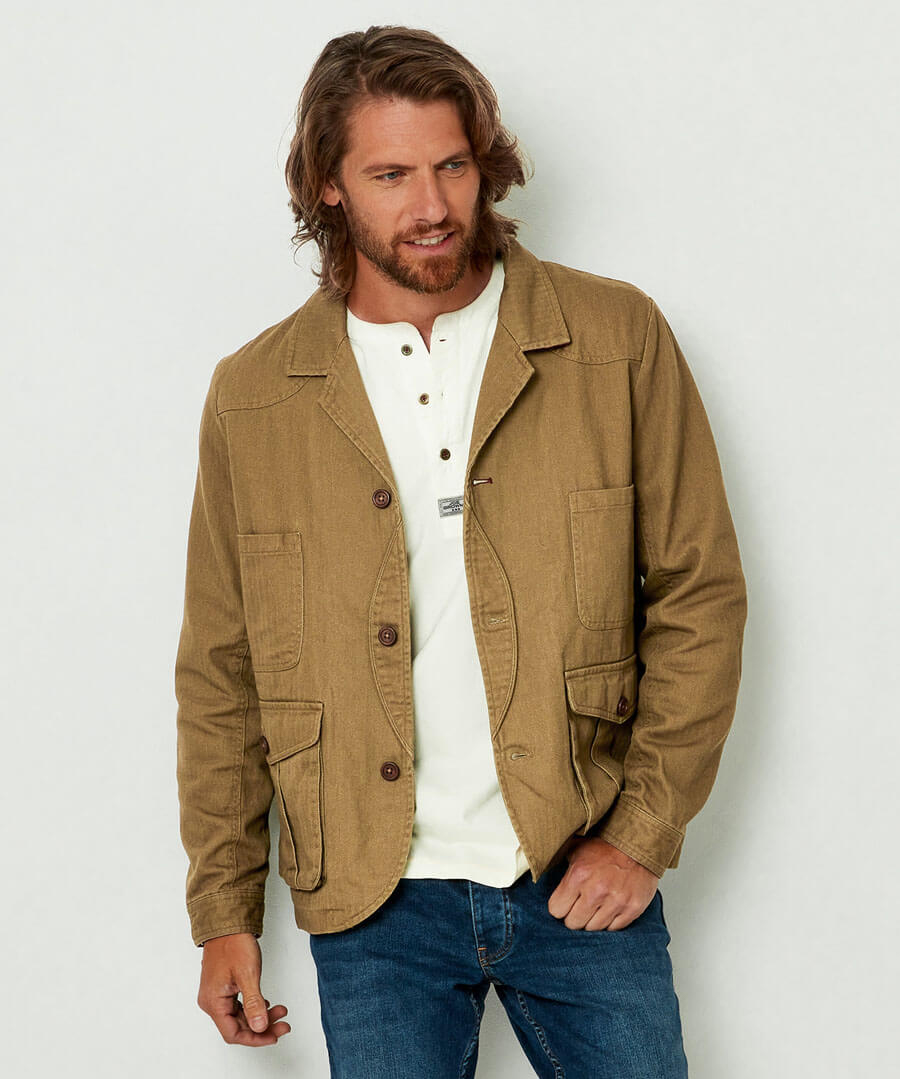 Know The Score Jacket Tobacco Brown