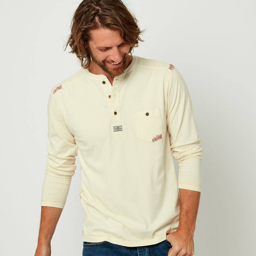 Piston Henley Cream