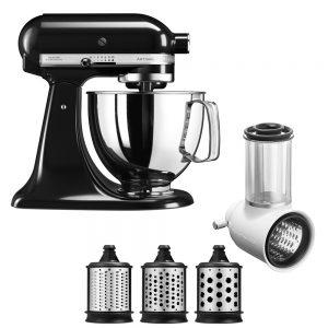 KitchenAid 4.8 Litre Artisan Stand Mixer 5KSM125 (Onyx Black)