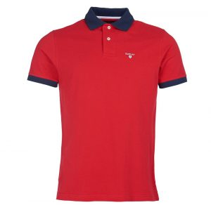 Barbour Lynton Polo  RED/LARGE