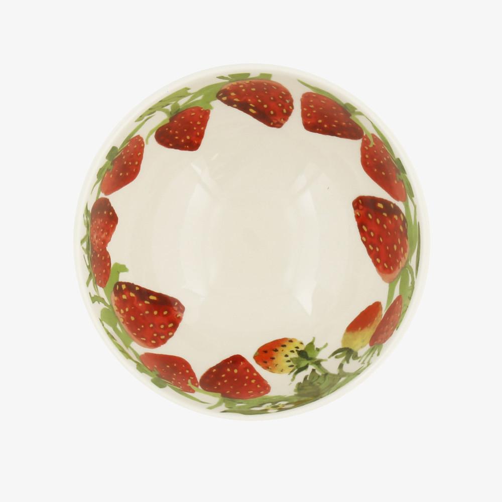 Vegetable Garden Strawberries French Bowl