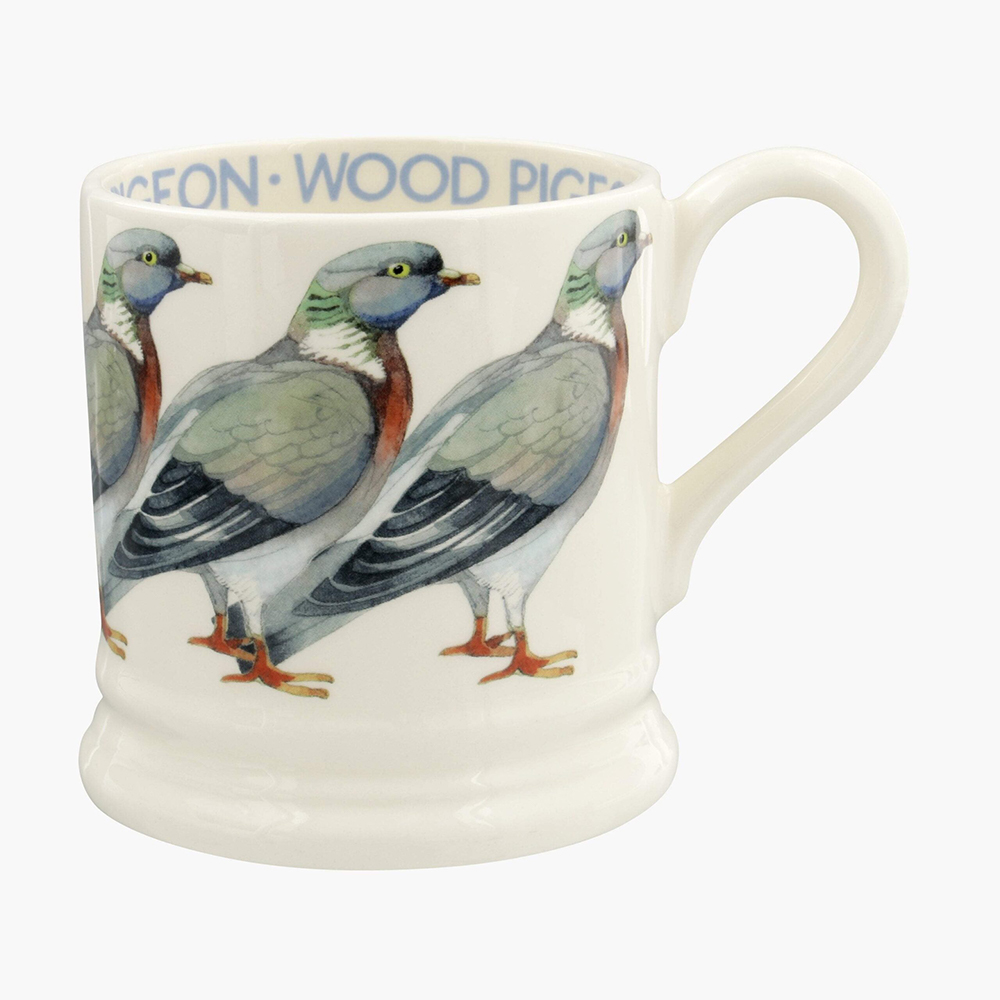 Wood Pigeon 1/2 Pint Mug