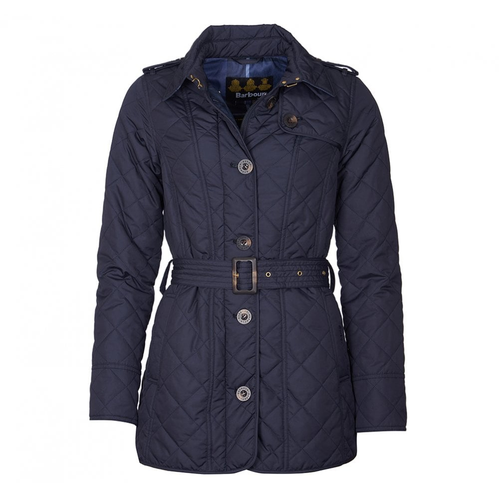 Barbour Tummerl Quilt Navy