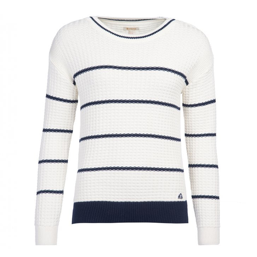 Barbour Petrel Womens Knit Cream
