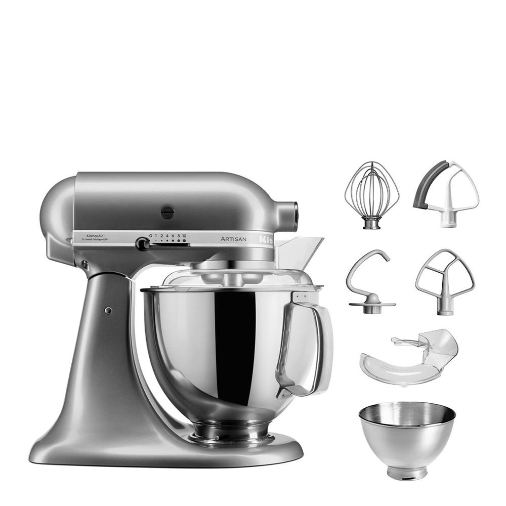 KitchenAid Artisan Mixer 4.8L Contour Silver (5KSM175PSBCU)