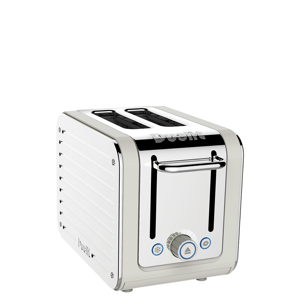 Dualit Architect 2 Slot Canvas Body With Stainless Steel Panel Toaster
