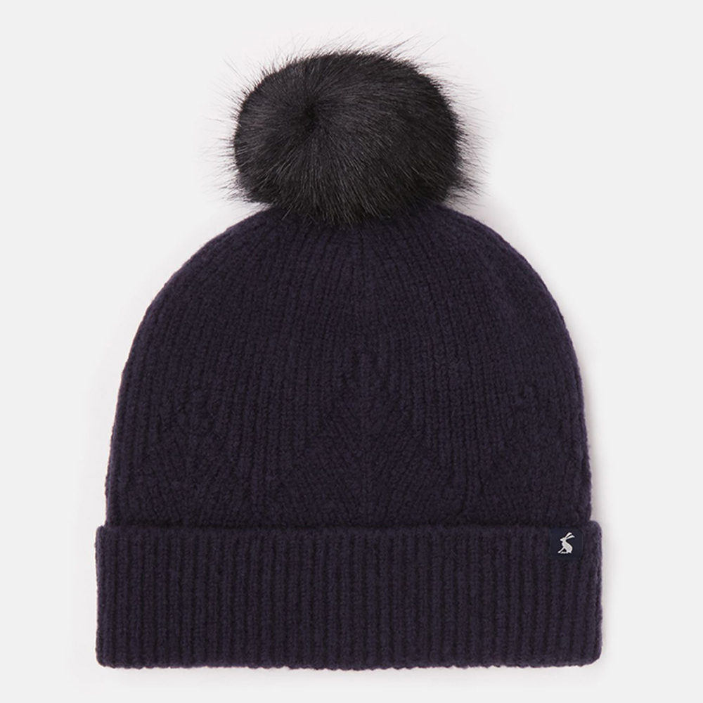 Thurley Knitted Hat Navy