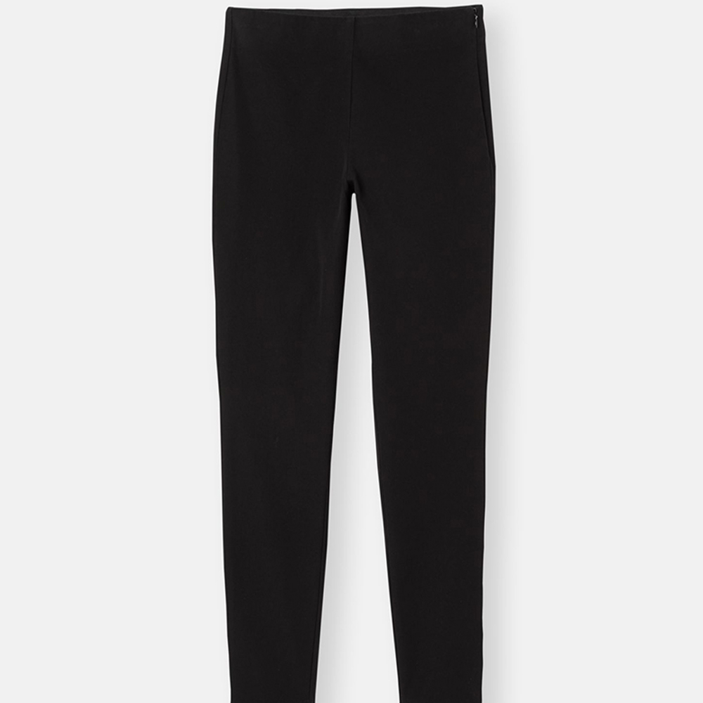 Hepworth Pull On Stretch Trouser Black