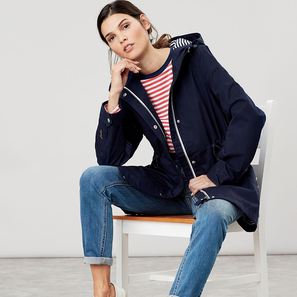 Shoreside Shoreside With Stripe Jersey Lining Navy
