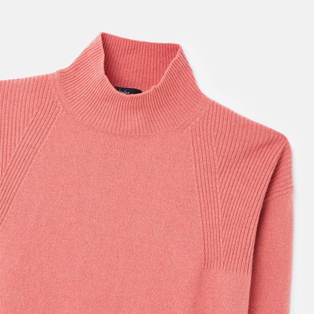 Halton Knittted Turtle Jumper Pink