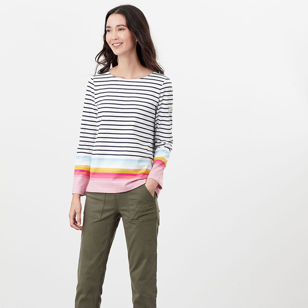 Harbour Long Sleeve Jersey Top Multi