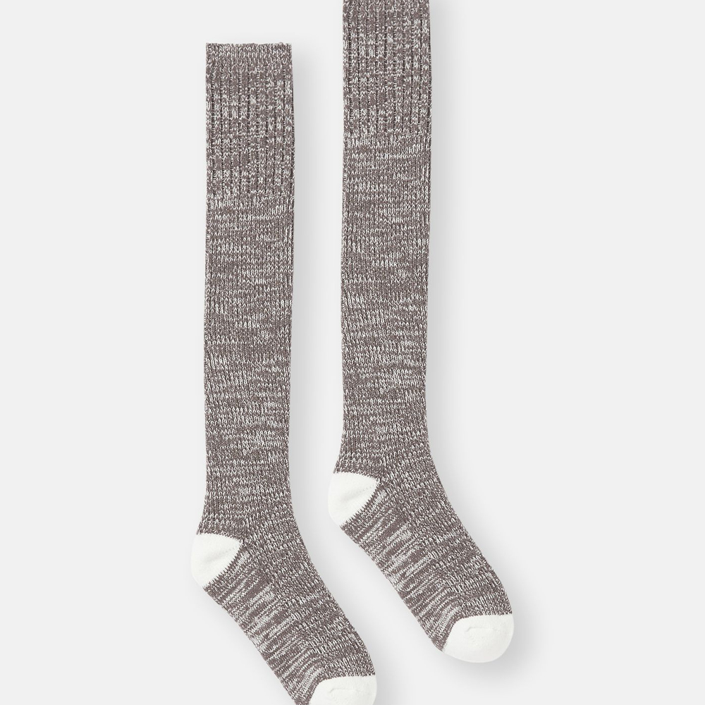 Trussel Sock Knitted Sock Grey