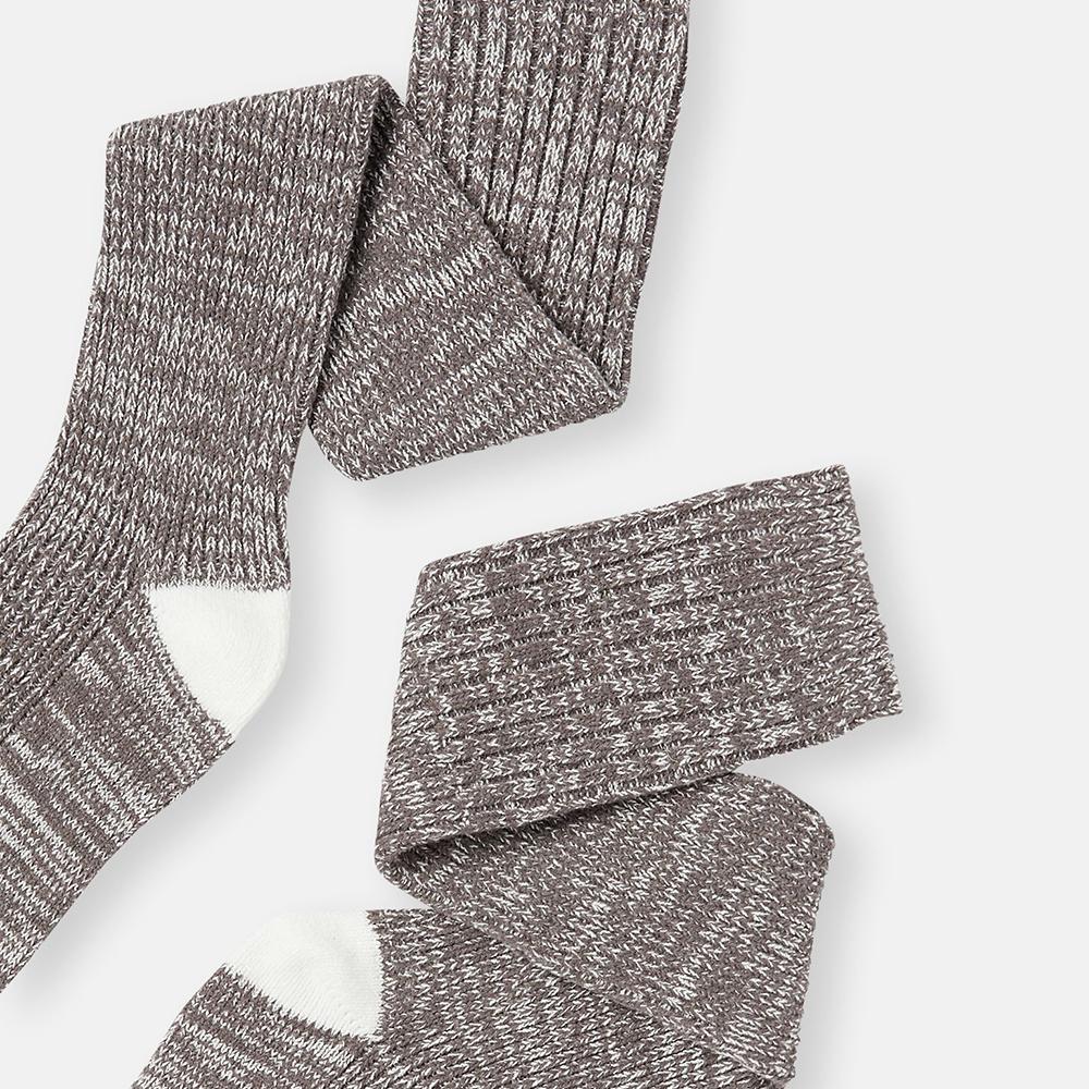 Trussel Sock Knitted Sock Grey