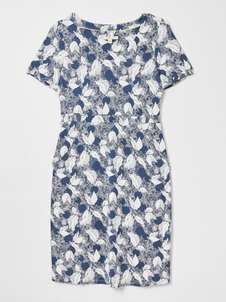 Rosemary EcoVero Dress Teal