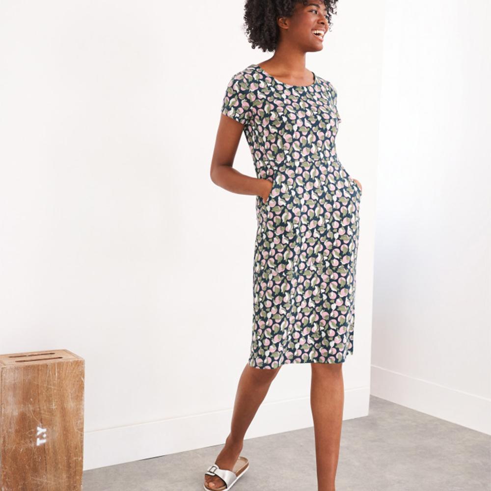 Sage Fairtrade Dress Teal