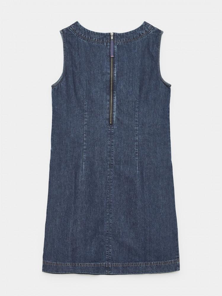 Lothbury Denim Pinafore Dress Denim