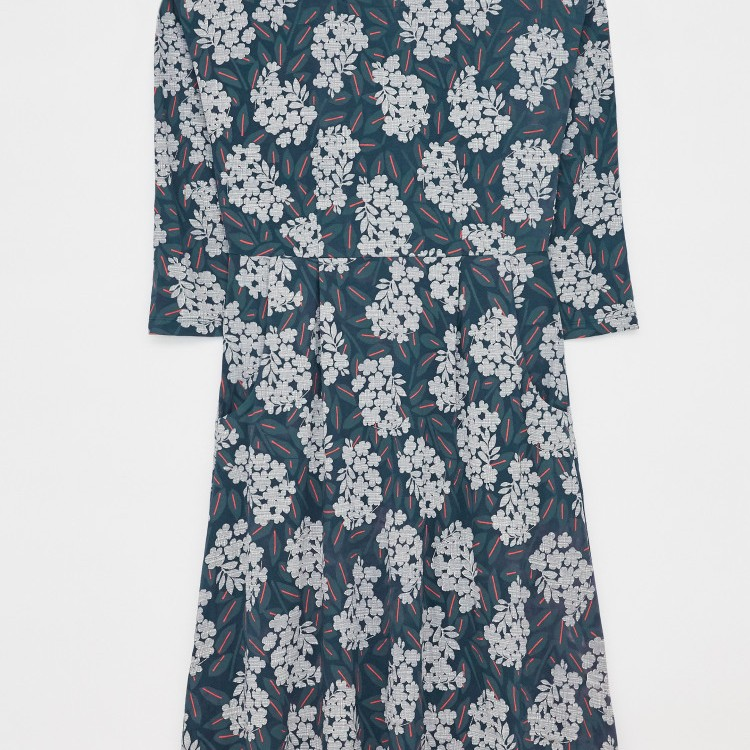 Aiken Eco Vero Dress Navy