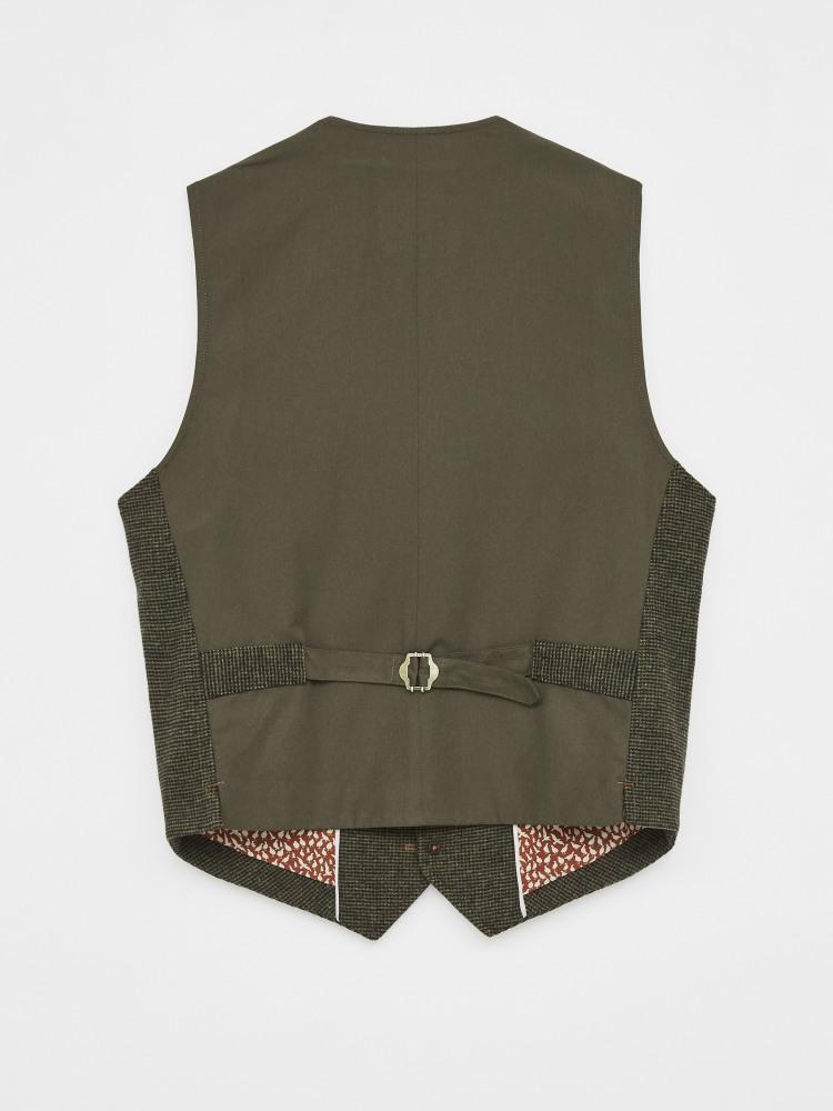 Eiber Waistcoat Dark Brown