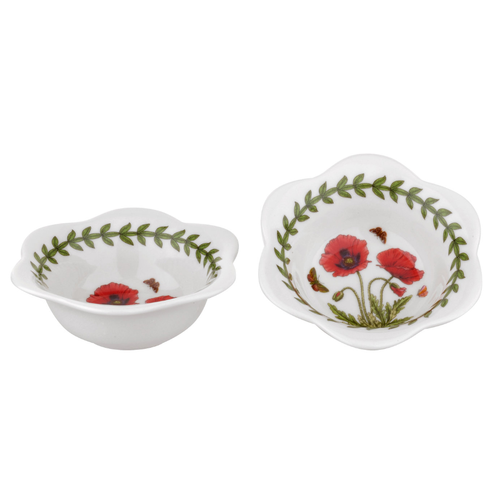 Portmeirion Botanic Garden Set of 2 Dip Bowls or Tealights