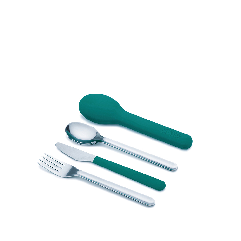 GoEat™ On-the-go Cutlery Set  Teal