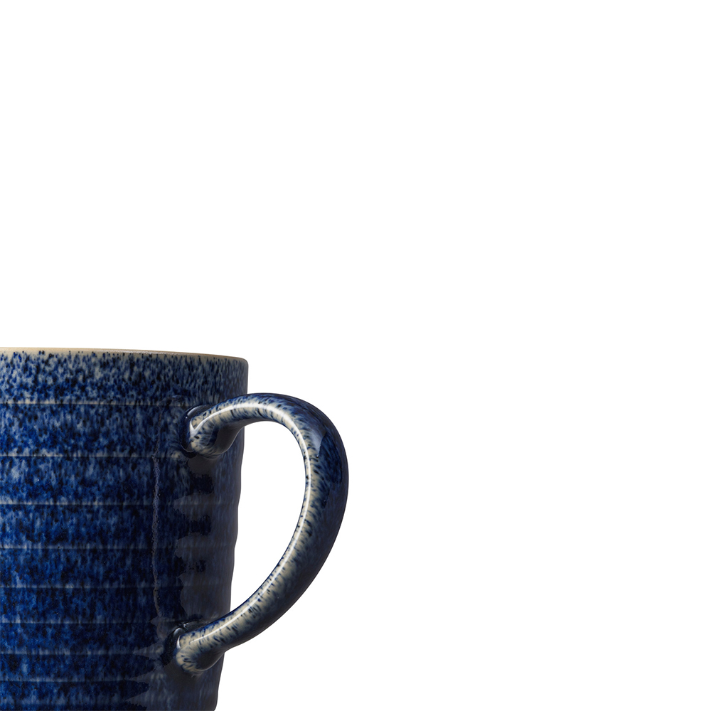 Studio Blue 2 Piece Ridged Mug Set
