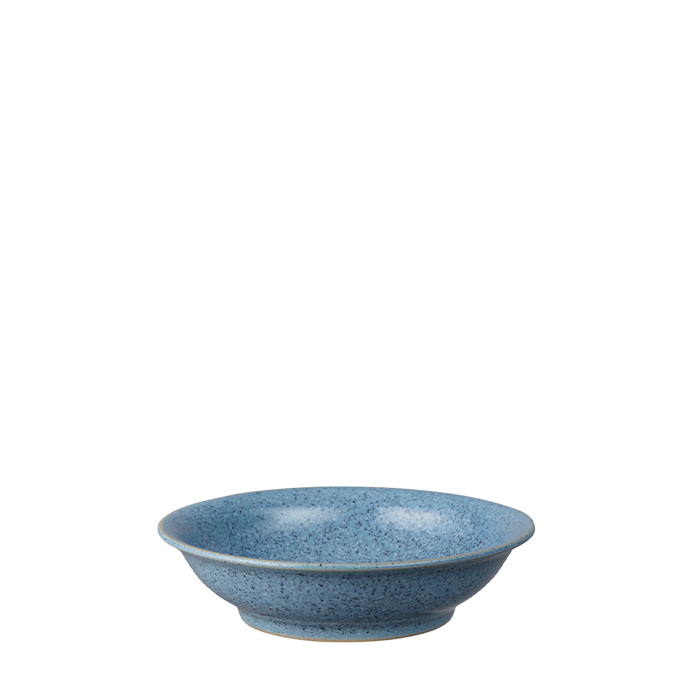 Studio Blue Flint Medium Shallow Bowl