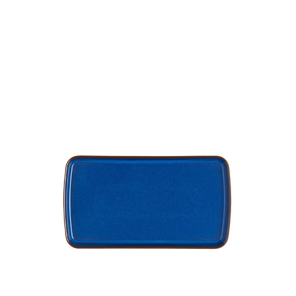 Imperial Blue Small Rectangular Platter