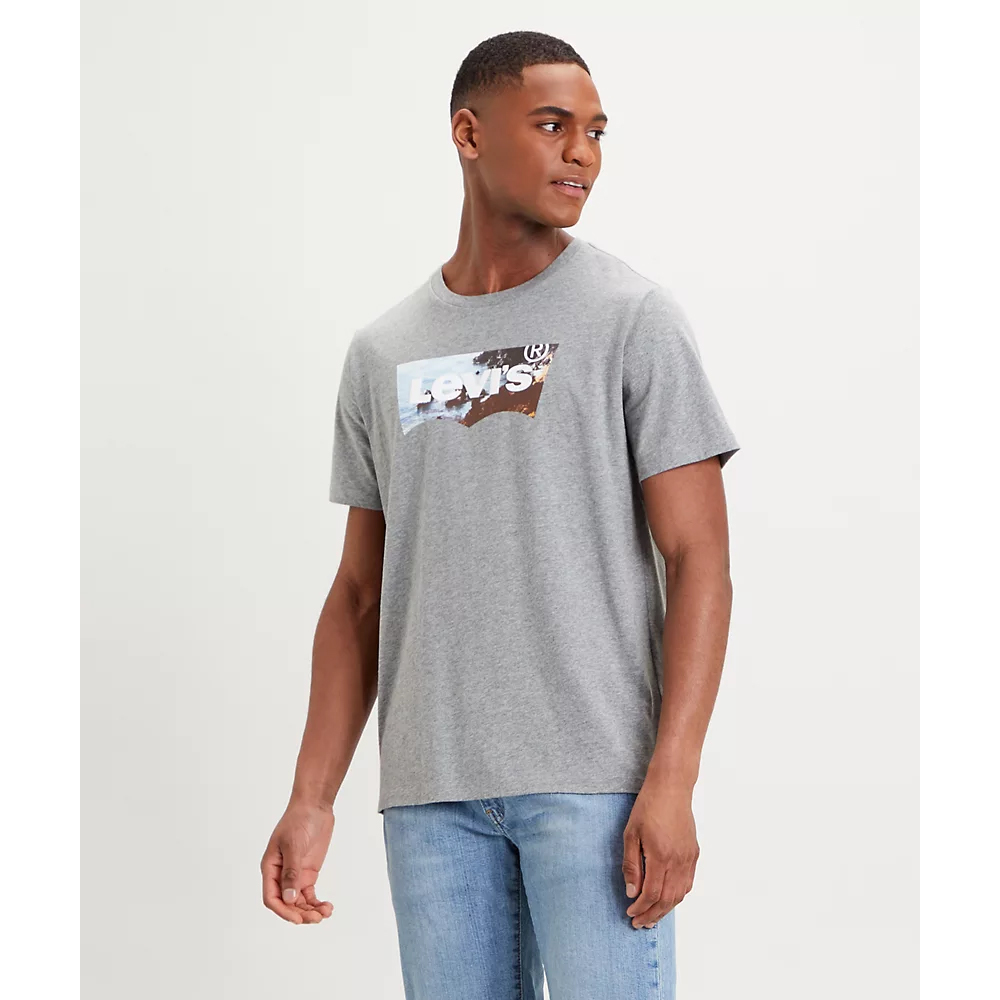 House Mark Graphic Tee Grey
