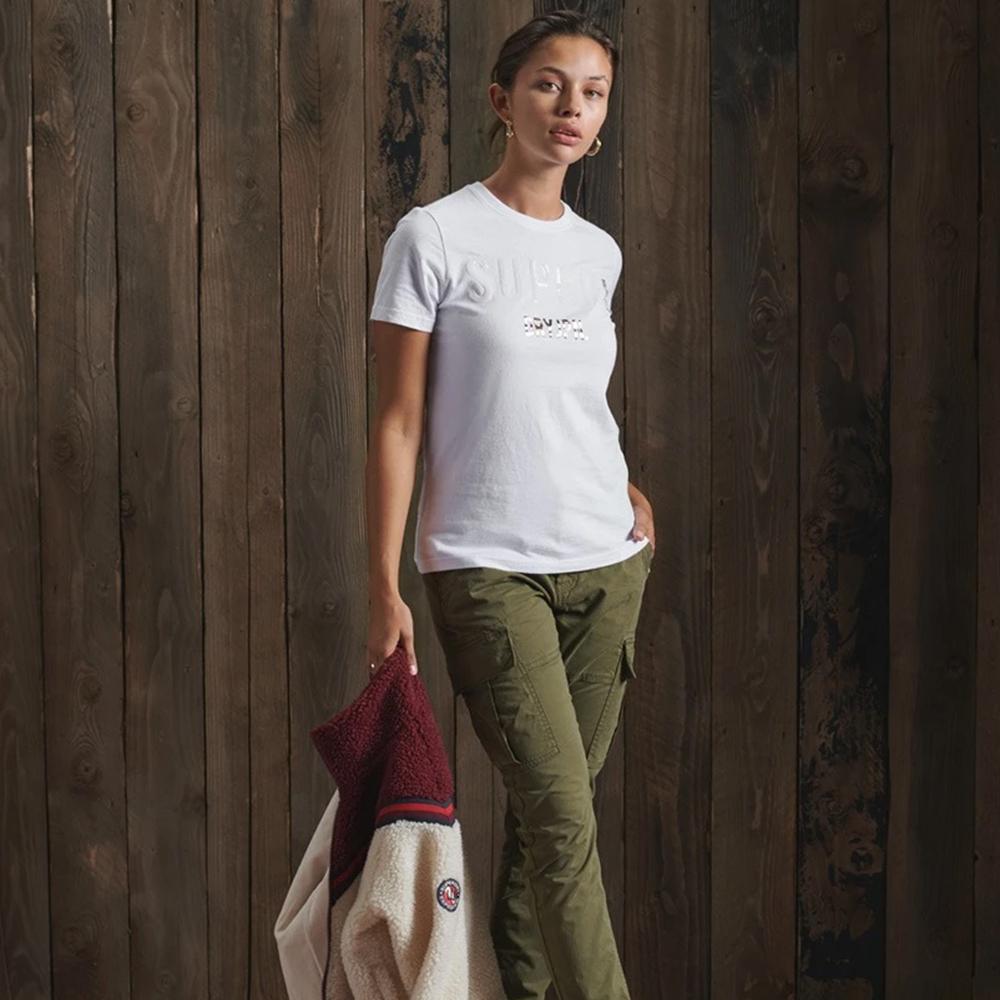 Super Japan Sequin T-Shirt - White