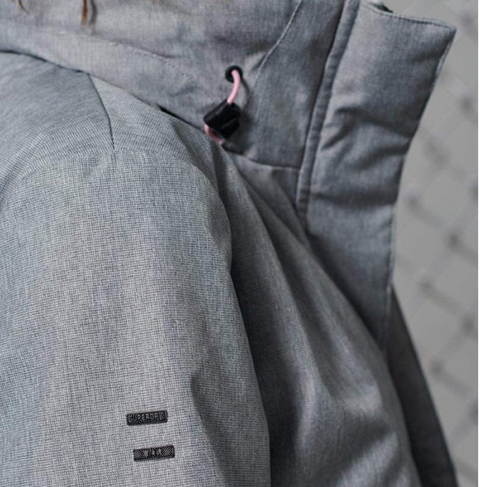 Hurricane Jacket Grey