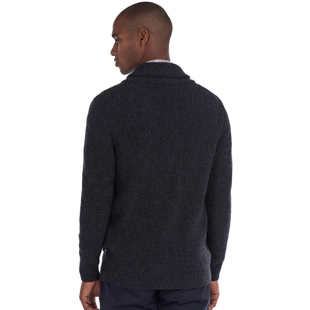 Barbour Findlay Knitwear - Grey/Charcoal