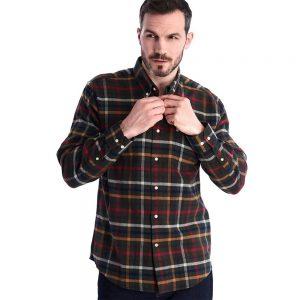 Barbour Haldo Shirt Olive
